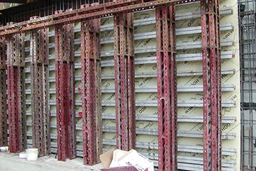Form Tech Soldier Beam One Sided Concrete Forming Systems