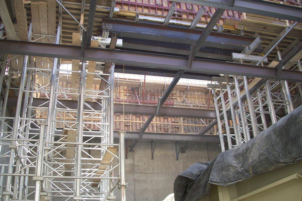 Aluminum Shoring Concrete : Mega shore concrete shoring system form tech forming